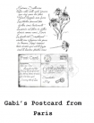 Gabi's Postcard from Paris Stamp Set